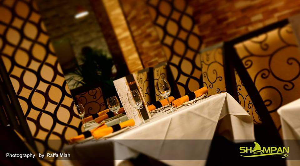 Table Setting @ The Shampan