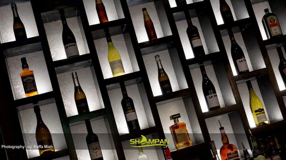Wine & Spirits Collection @ The Shampan