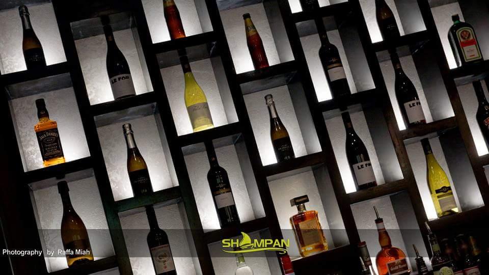 Wine & Spirits Collection @ The Shampan